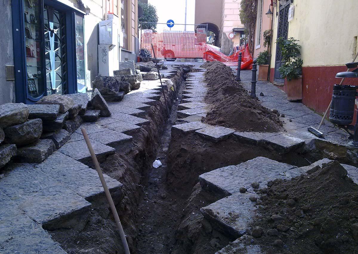 Realizzazione pavimentazione cittadina